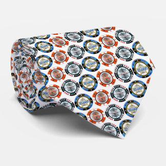 Hohe Rollen-Poker bricht weiße Krawatte ab