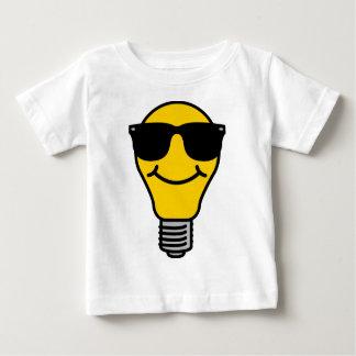 (Hohe) Schablone der Glühlampe Baby T-shirt