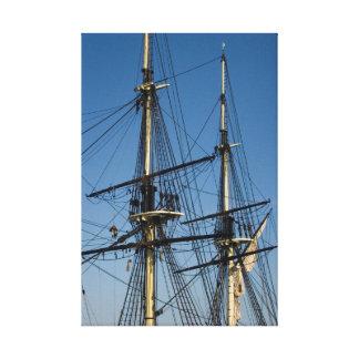 Hohe Schiffe Leinwanddruck