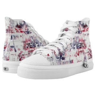 Hohe Spitzenschuhe Marys Zipz Hoch-geschnittene Sneaker
