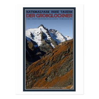 Hohe Tauern - Großglockner Postkarte