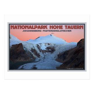 Hohe Tauern - Johannisberg an der Dämmerung Postkarte