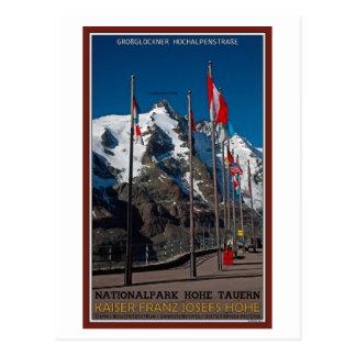 Hohe Tauern - Kaiser Franz Josef Hohe Postkarte