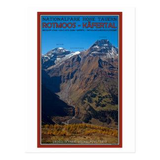 Hohe Tauern - Rotmoos-Kafertal Postkarte