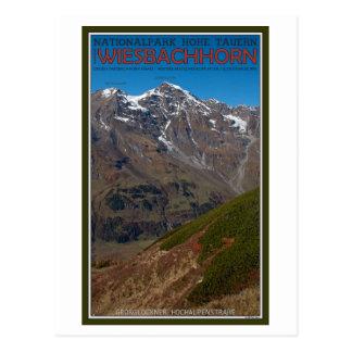 Hohe Tauern - Wiesbachhorn Postkarte