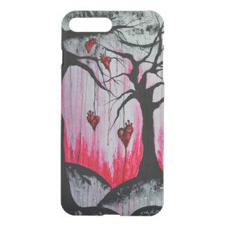 Hohe - und - trockene Herz-Baum-Kunst iPhone7+ iPhone 8 Plus/7 Plus Hülle