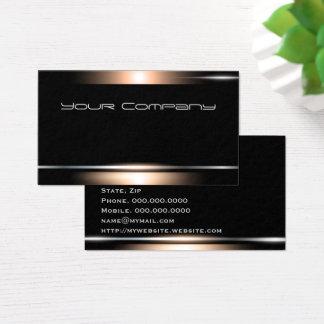 Höhepunkt-schwarze berufliche visitenkarte