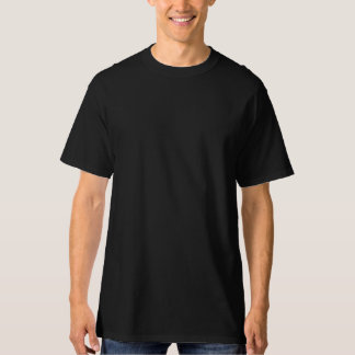 Hoher das Hanes der Männer T - Shirt, schwarz T-Shirt
