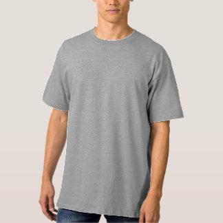 Hoher das Hanes der Männer T - Shirt STAHLlt LRG