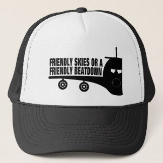 Hoher das Hanes der Männer T - Shirt Truckerkappe