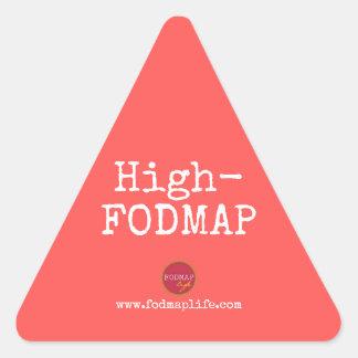 Hoher-FODMAP Aufkleber