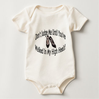 Hoher Heels Baby Strampler