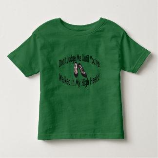 Hoher Heels Kleinkind T-shirt