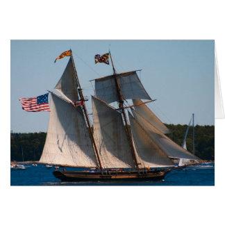 Hoher Schiffs-Stolz von Baltimore Karte