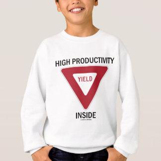 Hohes Produktivitäts-Ertrag-Innere Sweatshirt