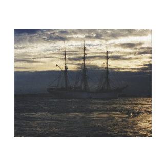 Hohes Schiff im Humber Leinwanddruck