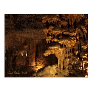 Höhle Netifim, Israel Postkarten