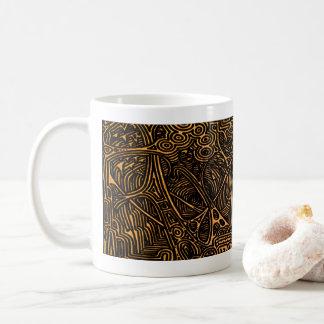 Höhlen durch Blaise Gauba Kaffeetasse