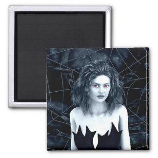 Höhlen-Mutter-gotische Kunst Quadratischer Magnet