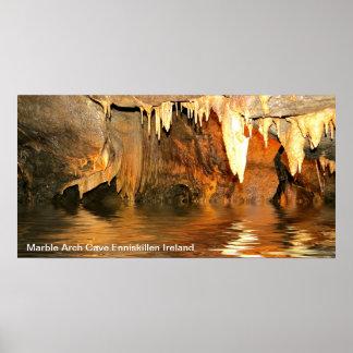 Höhlen-Plakat Poster