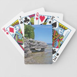 Höhlen-Punkt-Park-Küstenlinie Bicycle Spielkarten