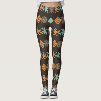 Höhlenmalereien Leggings