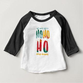 HOHOHO /ALT FARBE BABY T-SHIRT