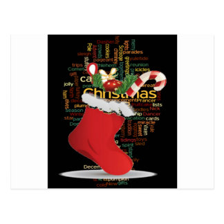 HoHoHo! Frohe Weihnachten GESCHENKE und ein guten Postkarte
