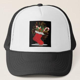 HoHoHo! Frohe Weihnachten GESCHENKE und ein guten Truckerkappe