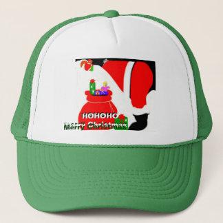 HOHOHO Weihnachtsmannmütze Truckerkappe