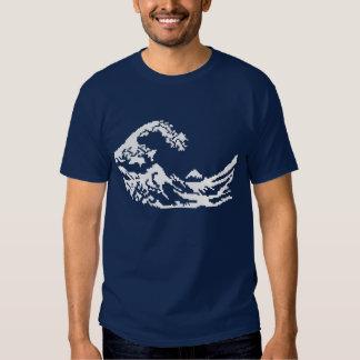 Hokusai 8bits t shirts