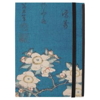 Hokusai Bullfinch und weinende Kirsche GalleryHD