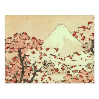 Hokusai der Fujisan Japaner-Kunst Postkarten