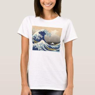 Hokusai der große Wellen-T - Shirt