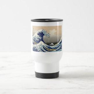 Hokusai: Die große Welle von Kanagawa Reisebecher