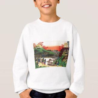 Hokusai - japanische Kunst - Japan Sweatshirt