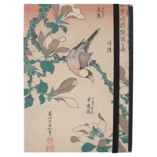 Hokusai Java Spatz auf Magnolie GalleryHD