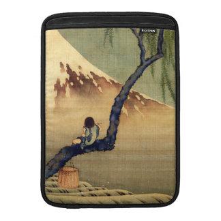 Hokusai Junge, der der Fujisan-japanisches MacBook Air Sleeve