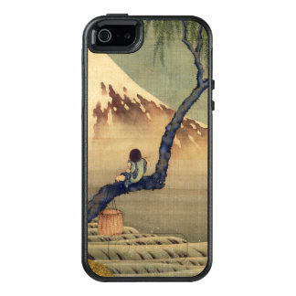 Hokusai Junge, der der Fujisan-japanisches OtterBox iPhone 5/5s/SE Hülle