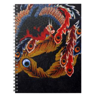 Hokusai Kunstnotizbuch Notizblock