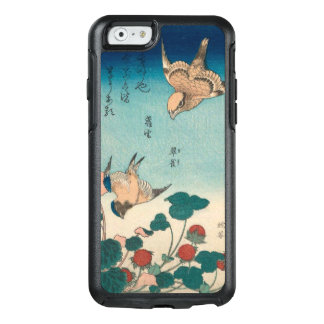 Hokusai Vintages Shrike und Drossel GalleryHD OtterBox iPhone 6/6s Hülle