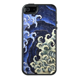 Hokusai weibliche Wellen-japanische Vintage feine OtterBox iPhone 5/5s/SE Hülle