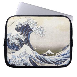 Hokusais große Welle Laptop Schutzhüllen