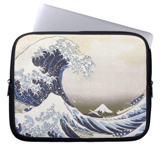 Hokusais große Welle Laptopschutzhülle
