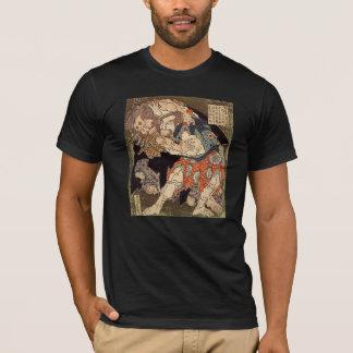 """Hokusais """"Sumo-Ringkämpfer-"""" T - Shirt"""