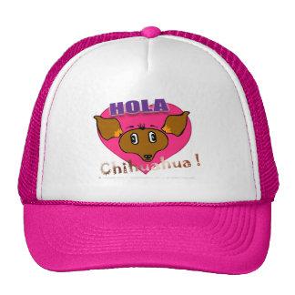 """""""Hola Chihuahua!"""" Amistad Hut Retro Cap"""