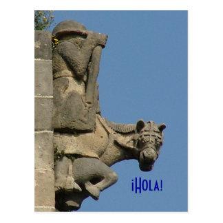 ¡ Hola! - Grüße von Barcelona Postkarte