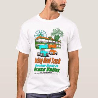 Holen Sie die ovale Bahn, die zurück zu Gras-Tal T-Shirt
