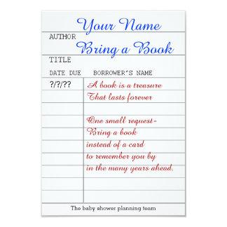Holen Sie einen Bucheinsatz 8,9 X 12,7 Cm Einladungskarte