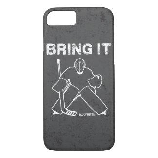 Holen Sie ihm Hockey-Tormann iPhone 8/7 Hülle